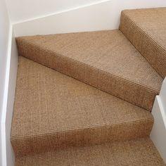 Floorspace - Gallery - Heavy Castlemaine Sisal On Stairs