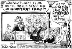 Zapiro - Fraudsters at Mandela Memorial published in Sunday Times on 15 Dec 2013 Political Satire, What Goes On, Sign Language, Anime Characters, Memories, My Love, South Africa, Funny, Cartoons