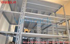 long span shelving - kệ trung tải: Hệ thống Giá kệ kho tài liệu Vinarack