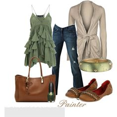 Ruffles, created by mels777 on Polyvore