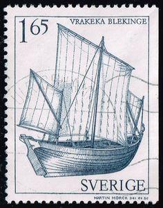 Sweden #1361 Biekinge; Used (0.75)