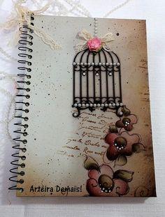 Caderno Decorado Arteira Demais!   por ARTEIRA DEMAIS