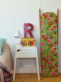 Sanna & Sania....check out that iron board!