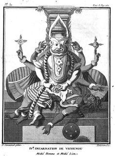 Narasimha Incarnation of Vishnu