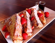Creme Brulee French Toast at Max's Wine Dive