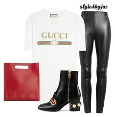 """""""Untitled #694"""" by harrisjazmin on Polyvore featuring Gucci"""