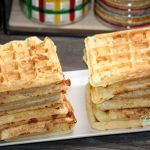 WAFFE CU CASCAVAL Healthy Meals For Kids, Healthy Recipes, Baby Food Recipes, Waffles, Appetizers, Favorite Recipes, Bread, Breakfast, Recipes