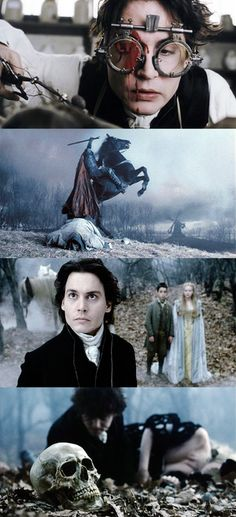 Sleepy Hollow, even though it's scary it's one of my favorites. I only watch it during the day!