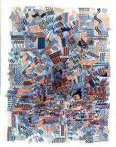 """Saatchi Art Artist Ken Resen; Drawing, """"Chaos"""" #art"""