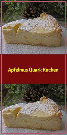 Applesauce quark cake - really great juicy ! Applesauce quark cake recipes Ingredients: 1 glass of applesauce 100 g butter - Cake Mix Cookie Recipes, Sheet Cake Recipes, Cake Mix Cookies, Vanilla Sheet Cakes, Chocolate Mint Cookies, Classic Desserts, Cream Cheese Recipes, New Cake, Cheesecake