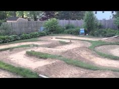 Backyard RC Car Track 2013 - YouTube