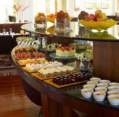 Buffet at The Promenade Café, Hyatt Hotel Canberra