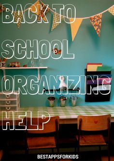 Back To School Organizing Help. Getting Organized At Home, Back To School Organization, Home Management, Organizing, Kids Room, Parenting, Neon Signs, Education, Room Kids