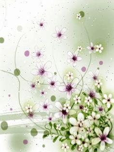 Animation Flower Screen Saver Wall by Wapking.cc Cellphone Wallpaper, 3d Wallpaper, Free