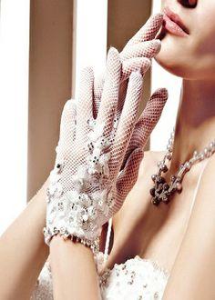 gelinlik eldiven modelleri parmakli ve parmaksiz dantel tul saten fiyonklu islemeli modeller (5)