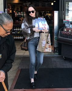 Dakota at a grocery store in LA - March 23rd 2017