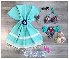Σετ Μαγιώ 24,99€ διαθέσιμα σε s-m-l-xl Πετσέτες 100% βαμβακερές μεγάλες στα 29,99€ Γυαλιά από 5,99€ Ματόχαντρες Δώρο για το κακό το Μάτι!! ;)  #crislia #weekend #beach #sand #sky #swimming #sea #shoponline #weekend #color  Κάνε την παραγγελία σου καθημερινές 10:00-18:00: •με μήνυμα inbox •τηλεφωνικά στο 210-5223012  Μεταφορικά με αντικαταβολή 4,90€ Μεταφορικά με κατάθεση 3,90€ Δωρεάν αποστολές για αγορές ανω των 70€