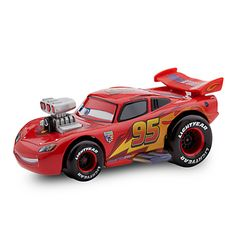 Lightning McQueen Die Cast Car - Hot Roddin' Series