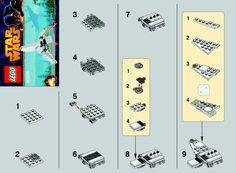 1 Star Wars - Imperial Shuttle [Lego 30246]