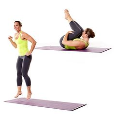 Fun exercise that will get your heart rate up and work legs and abs: Move of the Day: Rock the Boat   Health.com
