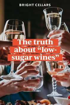 Looking for wines with low sugar? We hate to burst your bubble, but whether you''re looking for the best low sugar wines, low sugar red wines, or wines low in sugar… most wines are low sugar. Click through to read more! Bright Cellars, Wine Guide, Low Sugar, Wine Tasting, Wines, Red Wine, Bubbles, Good Things, Learning