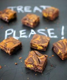 Pelottavan hyvää: kurpitsapiirakka-brownie | Kiusauksessa | HS
