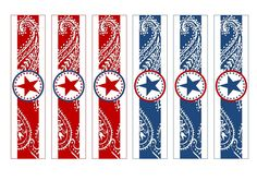 4th of July - Napkin Rings