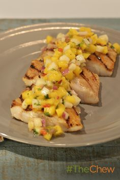 This Grilled Grouper with Key Lime Mango Salsa will bring the taste of Key West right to your kitchen!
