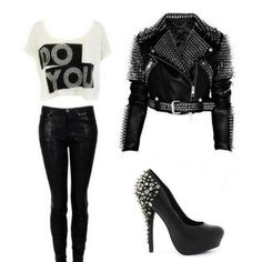 Would so wear this to a rock concert