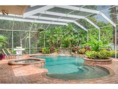 Take a break from the Florida heat by making a splash in this Wesley Chapel pool!