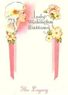 Art Deco Button Card ~ frame - bumble button