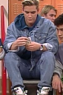 """Denim on denim. 