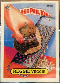 1987 Topps Garbage Pail Kids Trading Card 305b by LEATHERGLACIER, $2.00