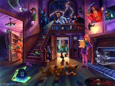 Scooby Doo scooby-doo-wallpaper-038.jpg (400×300)