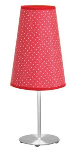 Lumisource Dot Table Lamp with Red Shade