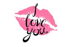 i Love you lettering kiss pink lips by on Creative Market – Poster Love Kiss, My Love, Bright Pink Lips, Red Lips, Loving You Letters, I Love You Lettering, Lips Painting, Lip Wallpaper, Pink Lips Makeup