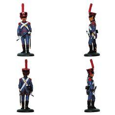 """Conductor - Tren de artillería - 1812 (Colección """"Soldados de las Guerras Napoleónicas"""" editada por delPrado - 60 mm)"""