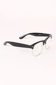 cf09911c55b44 These cool glasses feature a semi-wayfarer inspired design and semi-rimless  trim. Include a plastic and metal framing