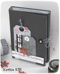 Voici le mini album &spécial tampons& (37 !) que j'ai eu le plaisir de proposer en ateliers à la demi-journée à mon domicile et à la boutique l'arrêt création : en détails : de dos : l'intérieur : L'intérieur en détails : déplié : les tags cachés : J'en...