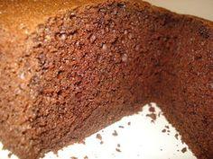 Рецепт - шоколадный шифоновый бисквит