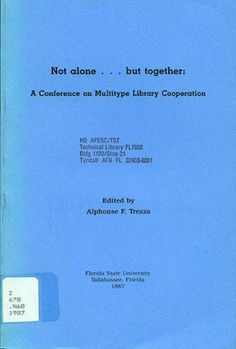 Not Alone  but Together by Alphonse F. Trezza, http://www.amazon.com/dp/9999393837/ref=cm_sw_r_pi_dp_SSV5qb0VSNB81