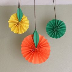 Brighten up those dreary winter days with this easy to create citrus fruit craft!
