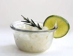 TASTY TRIX: Summertime Simplicity: Lime & Rosemary Granita