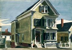 Anderson's House Edward Hopper - 1926