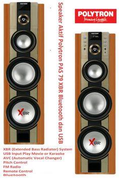 Harga Speaker Aktif Polytron PAS 79 XBR Bluetooth dan USB