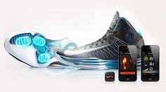 Nike Hyperdunk+ : Des baskets qui se glissent parmi les objets connectés