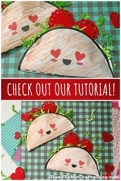 Kid Approved – Paper Love Tacos For Valentine's Day Celebrating Valentine's Day Crafts For Kids, Valentine Day Crafts, Kids Nutrition, Tacos, Holidays, Paper, Ideas, Holidays Events, Holiday