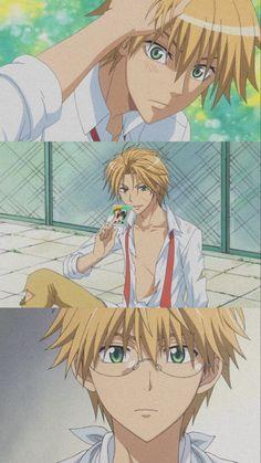 Maid Sama Manga, Anime Maid, Hottest Anime Characters, Hxh Characters, Hot Anime Boy, Cute Anime Guys, Miraculous Ladybug, Best Romantic Comedy Anime, Futaba Y Kou