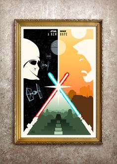 Star Wars: A New Hope Theatrical Size Poster $50