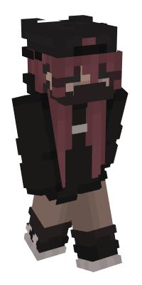Check out our list of the best Black Minecraft skins. Minecraft Skins Emo Girl, Minecraft Skins Avatar, Minecraft Skim, Minecraft Ideas, Minecraft Skins Aesthetic, Mc Skins, Minecraft Characters, Black Girl Aesthetic, Animal Crossing